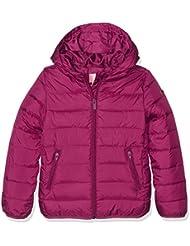 Roxy Question Reason - Chaqueta aislante para niña, color rojo, talla XL