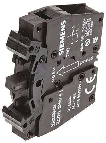 Siemens 3SB3400-0D Schaltelement mit 2 Schaltgliedern, 2S -