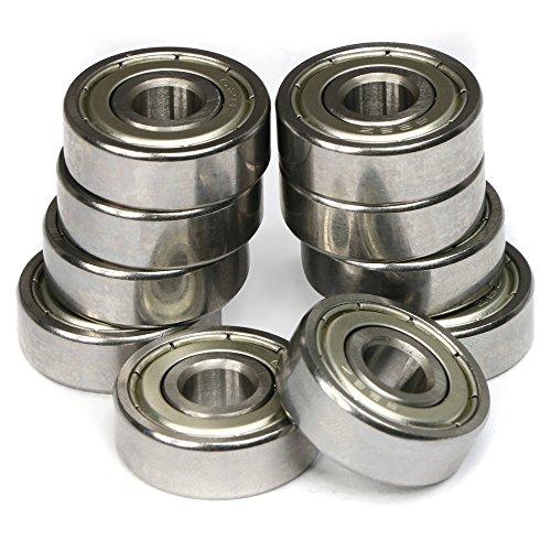 trixes-10-pezzi-cuscinetti-a-sfera-in-acciaio-628zz-argentati-per-skateboard