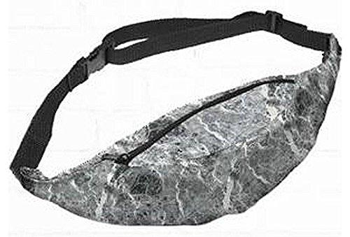 Kukubird Divers D'impression Ceinture Taille Pochette Avec Sac À Poussière Kukubird Marble