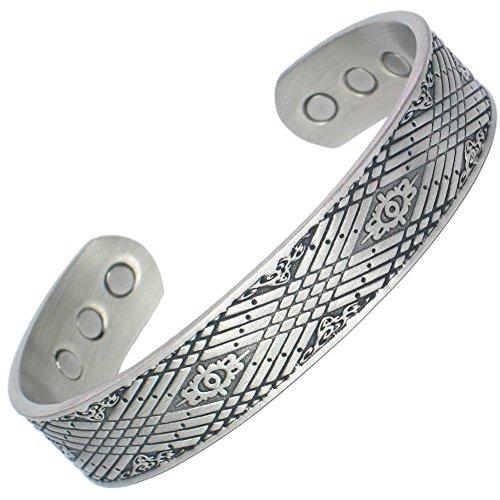 MPS Gotik magnetische Armband, Armreif Stil, mit 6 starken Magneten, mit gratis geschenk geldbörse