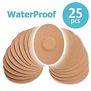 51FTwd7gLYL. SS300  - Fixic Patches 25Stück für Enlite-Guardian-Freestyle Libre-Wasserdicht Selbstklebend Patches-Beste Fixierung-Pre Cut-Tan Farbe