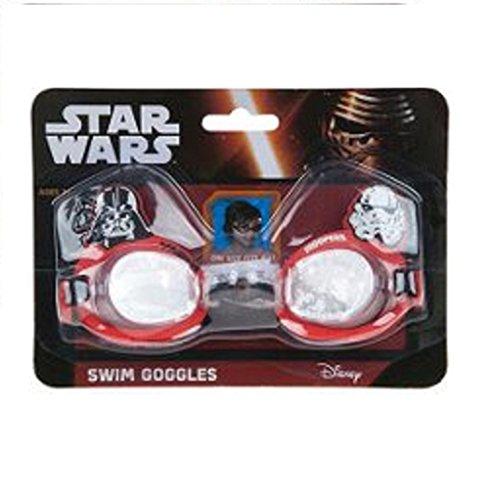 """Bambini, colore: rosso/nero, motivo: """"Star Wars-Occhialini da nuoto regolabili Multicolore Taglia unica"""