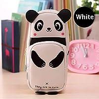 Mist Stylish White Panda Pencil Case Pencil Pouch for Girls & Boys, Students (Panda)
