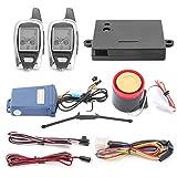 EasyGuard em2092-Wege Motorrad Alarmanlage mit Fernbedienung Engine Start Starter Mikrowelle Sensor Colorful LCD Pager Display Schock Sensor Proximity Sensor Enthalten Universal Version DC12V