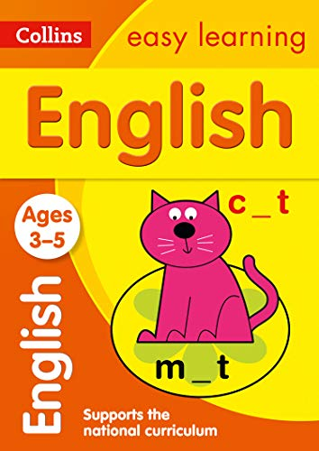 English Ages 4-5 (Collins Easy Learning Preschool)