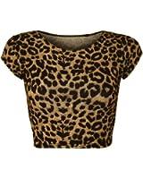 WearAll - Haut court à manches courtes avec beaucoup d'imprimés différents - Hauts - Femmes - Tailles 36 à 42