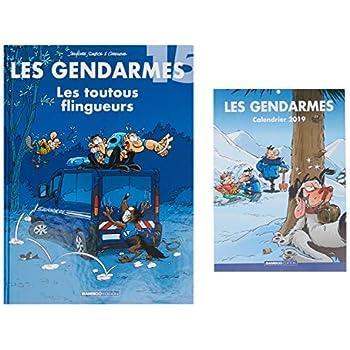 Les Gendarmes T15 + calendrier 2019 offert