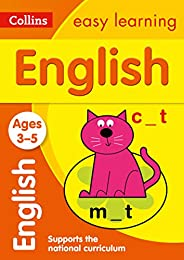 English Ages 3-5: New Edition: motivating English practice for reception year (Collins Easy Learning Preschool