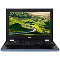 "Acer Chromebook CB3-131-C4SG 11,6"" HD Bleu/Noir (Intel Celeron, 4 Go de RAM, eMMc 16 Go, Intel HD Graphics, Chrome OS) Clavier AZERTY français"