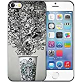 iPhone 5S Funda Case, Starbucks iPhone 5/5s anti scratch Slim Printed Protection Solid Funda Case Phone Accessories