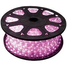 Velleman ight rll45p LED Luz serpiente, 45m longitud x 13mm de diámetro, color rosa