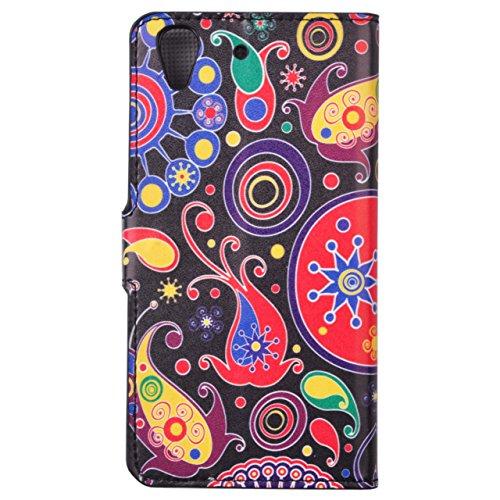 Voguecase® Pour Apple iPhone 5C Coque, Etui Housse Cuir Portefeuille Case Cover (Les jeunes amoureux 05)de Gratuit stylet l'écran aléatoire universelle Jellyfish