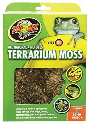 Zoo Med CF2-XE Terrarium Moss, XL natürliches Moos für Terrarien