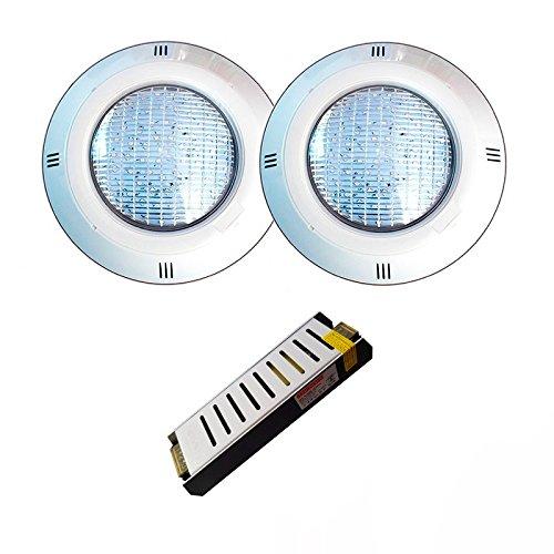 Warmpool 2 focos LED Blanco cálido Potentes 35W 3000k con Transformador de...
