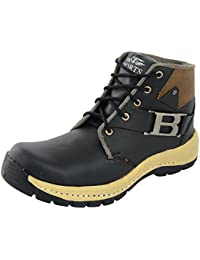 Smart Shoes Men's Black Casual Boots