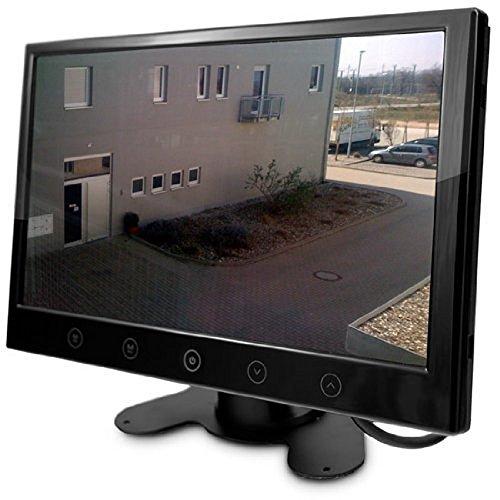 CLHome 9 TFT Überwachungsmonitor CM-HGUE9 Monitor für Überwachungskamera Kamera Überwachung BNC