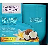 Laurence Dumont - Cire Epil Institut Mug À L'Huile De Monoï & Huile De Coco - Le Pot De 300G - Livraison Gratuite pour les commandes en France - Prix Par Unité