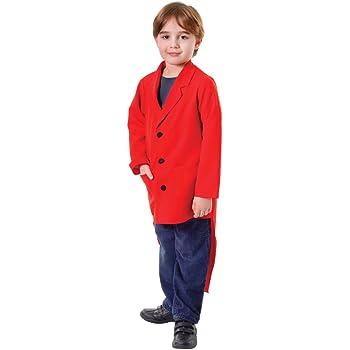 7b133d13e68 Smiffys 49741 Red Childs Tailcoat Fancy Dress Costume Small  Amazon ...