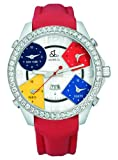 Jacob & Co. Mens Five Time Zone 3.25 CT Diamond Collection 47MM Authentic Watch JC-1 With Box & Papers