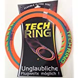 Frisbee TechRing Flexible Flying Disc Wurfring ca. 29 cm Durchmesser