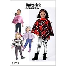 Butterick Patterns MCCALL s Patterns Butterick patrón 6373 Cl niños/niñas ...