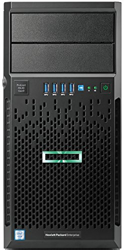 HPE ProLiant ML30 Gen9 4U E3-1220v5 8GB 2133R DR 2x1TB SATA 7.2k hpl (max. 4 x LFF hpl) B140i 2x1Gb Nic DVD-RW 350W nhp 1J-VOS TV 51FU6xJ5ciL