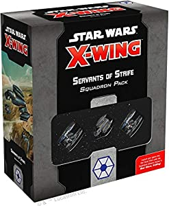 Fantasy Flight Games FFGSWZ29 Star Wars X-Wing 2nd Edition: Servants of Strife Squadron Pack, Colores Variados