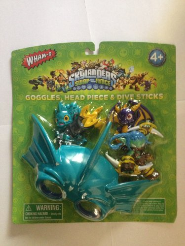 Skylanders Swap-force Goggle and Dive Stick Set by The Wish...