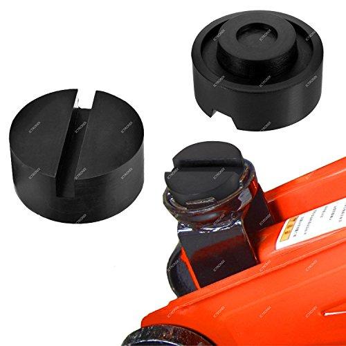 ILOVEDIY Bloc en Caoutchouc pour Cric de Levage Voiture Tampon Cric Hydraulique 65mm X 25mm