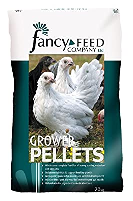 Fancy Feeds Growers Pellets from Vivexotic