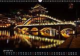 Lumières et couleurs de Chine (Calendrier mural 2019 DIN A3 horizontal): Fenghuang a subi de très graves inondations en juin 2014. Cette petite ville ... mensuel, 14 Pages (Calvendo Places)