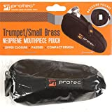 Protec Neoprene Mouthpiece Pouch for Trumpet - Black