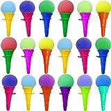 German Trendseller® - 12 x EIS Cream - Party Shooter - für Kinder ┃ Kindergeburtstag ┃ Super Schusskraft ┃ Mitgebsel ┃ Popper ┃ 12 x EIS Creme
