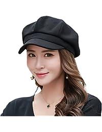 71a0058f14fbf Siggi Womens Wool Blend Visor Beret Newsboy Cap Baker Boy Hats for Ladies