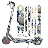SMILEQ Accesorios de Bicicleta Scooter eléctrico de Cuerpo Entero Pegatinas Cinta Paster Antideslizante For Xiaomi Mijia M365 Pro (A)
