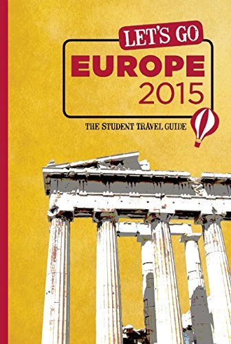 Let's Go Europe: The Student Travel Guide