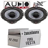 Audio System CO 165 EVO | 16cm Lautsprecher - Einbauset für Ford Fiesta MK7 Front Heck - JUST SOUND best choice for caraudio