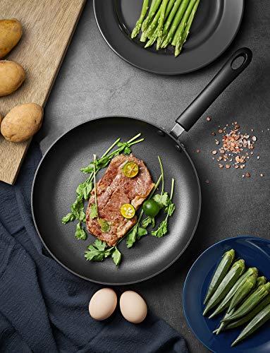 Deik Sartén de Aluminio Antiadherentes Induccion (28x5cm), Recubrimiento Antiadherente Premium para Todo Tipo de cocinas Incluso inducción