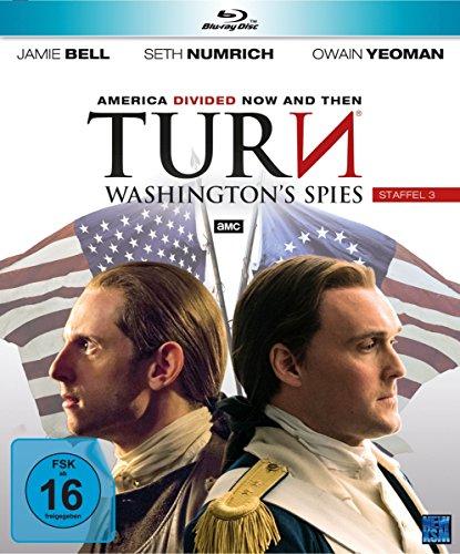 Turn - Washington's Spies - Staffel 3 [Blu-ray] -