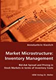Market Microstructure: Inventory Management: Inventory Management - Bid-Ask Spread and Pricing in Stock Markets in Terms of Inventory Costs