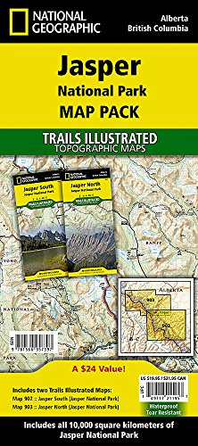 [map Pack Bundle] (National Geographic Trails Illustrated Map) ()