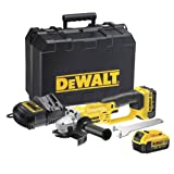DeWalt 18V XR Lithium-Ion Angle Grinder with Batteries