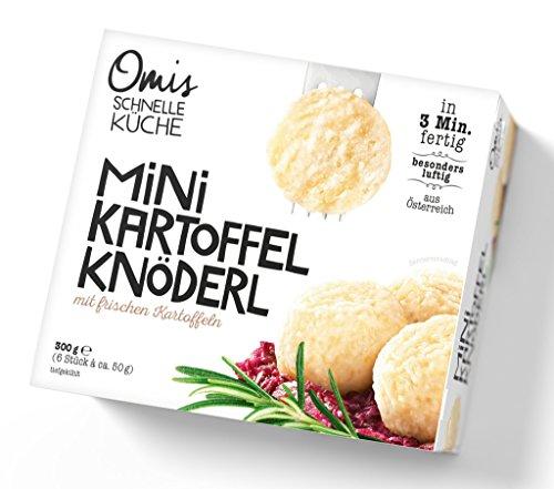 Omis Schnelle Küche – Mini-Kartoffel-Knöderl Kartoffelknödel TK – 6St/300g