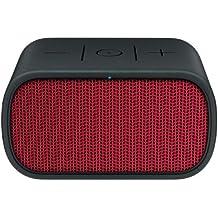 UE MINI BOOM - Altavoz portátil de 3 W (Bluetooth, NFC, USB, 3.5 mm), color negro y rojo