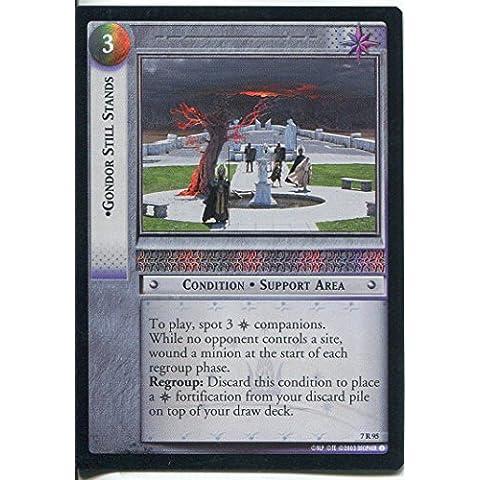 Il Signore degli Anelli-Foil CCG Card RotK 7.R95 Gondor SE Stands