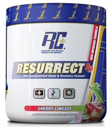 RCSS Resurrect-PM Regeneration Und Schlaf GABA Zink Magnesium L-Arginine L-Leucine 200g (Blue Raspberry - Brommbeer)