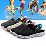 2in1 Mesh Sandals,CAMTOA Men Slippers Shoes/Mesh Breathable Hollow Out Sandals/Flip Flops Beach Slippers/Mesh Sneakers For Outdoor Sports Summer Casual Wearing for Men & Women
