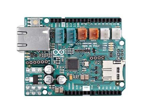 Franzis Verlag Arduino Ethernet Shield 2 Scheda di estensione per Arduino (RJ-45, 32 KB)