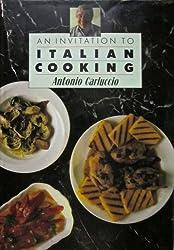 An Invitation to Italian Cooking by Antonio Carluccio (1986-10-06)